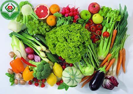 Điều trị viêm bàng quang thông qu chế độ dinh dưỡng