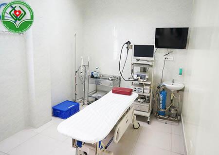 Phòng khám có trang thiết bị hiện đại