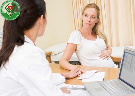 Chữa viêm lộ tuyến cổ tử cung khi mang thai