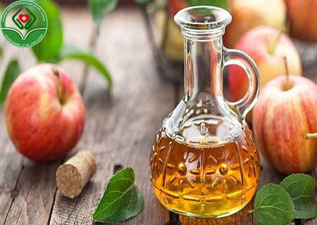 Điều trị bệnh bằng giấm táo