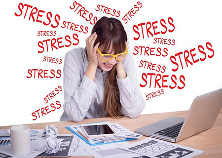 Trễ kinh do căng thẳng