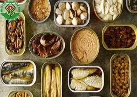 Nam giới nên hạn chế thực phẩm đóng hộp