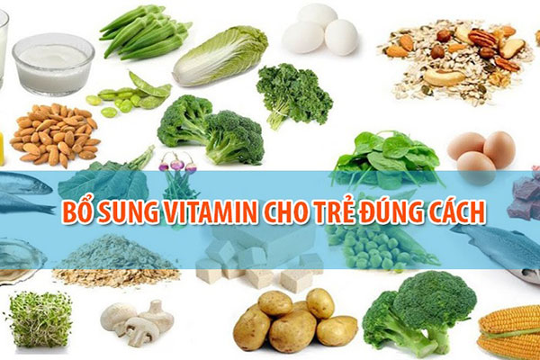 cách bổ sung vitamin cho trẻ đúng cách